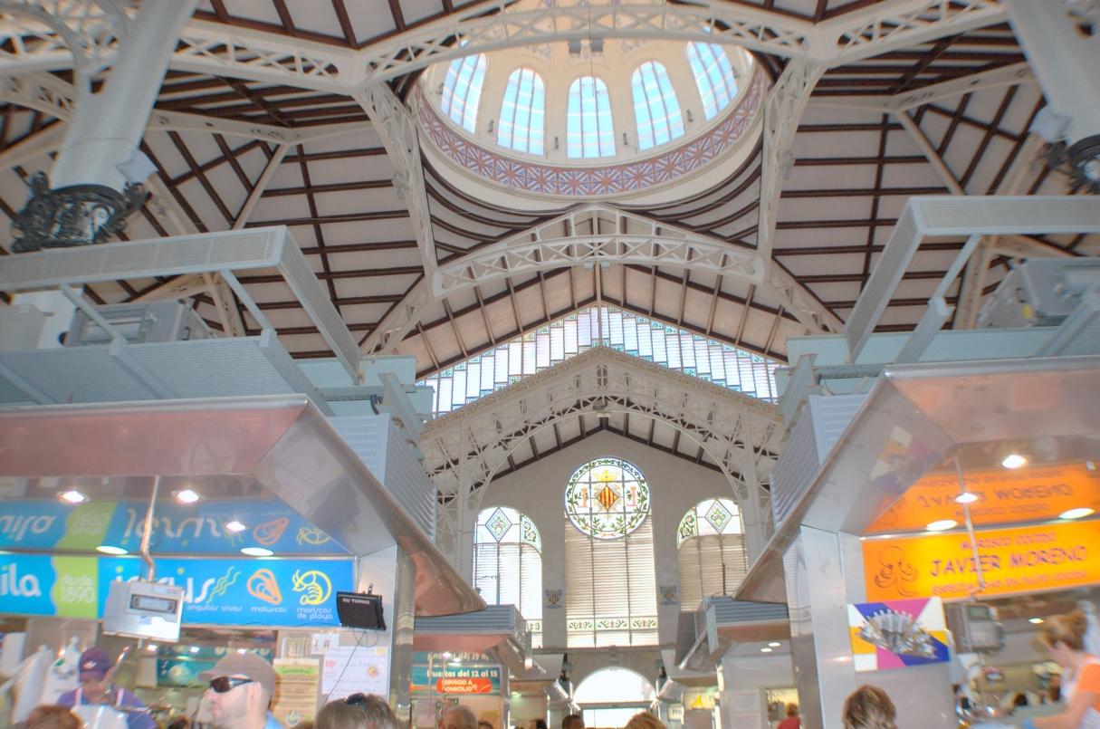 Detalle del Mercado Central